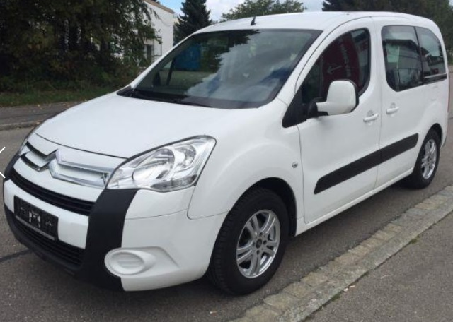 CITROEN BERLINGO (09/2009) - WHITE - lieu: