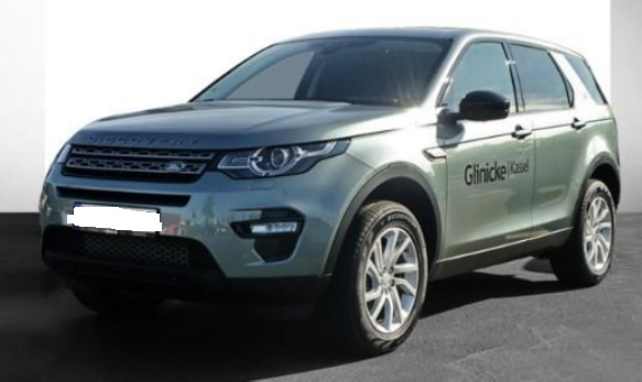 lhd LANDROVER DISCOVERY SPORT (05/2015) - LIGHT GREEN METALLIC - lieu: