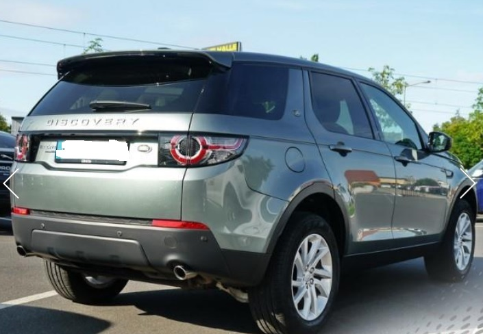 LANDROVER DISCOVERY SPORT (05/2015) - LIGHT GREEN METALLIC - lieu:
