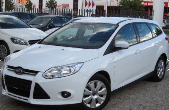 lhd FORD FOCUS (01/2012) - WHITE - lieu: