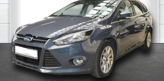 lhd FORD FOCUS (03/2012) - GREY METALLIC - lieu:
