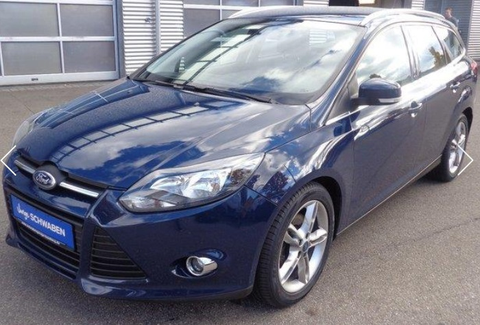 lhd FORD FOCUS (06/2012) - BLUE  - lieu: