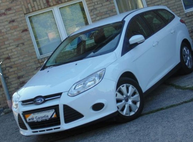 FORD FOCUS (07/2012) - WHITE - lieu:
