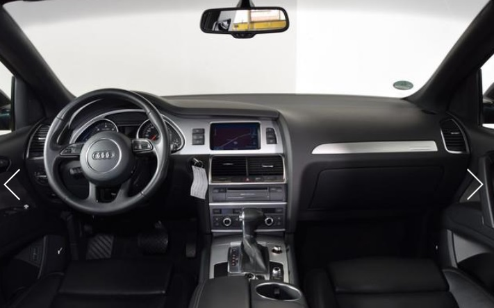 AUDI Q7 (07/2012) - BROWN METALLIC - lieu: