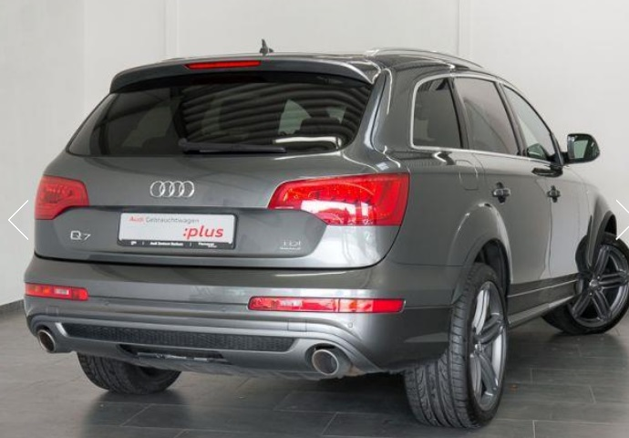 AUDI Q7 (06/2012) - GREY METALLIC - lieu: