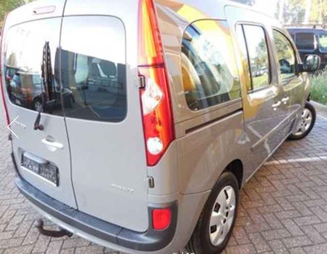 Left hand drive RENAULT KANGOO 1.5 DCI EXPRESSION