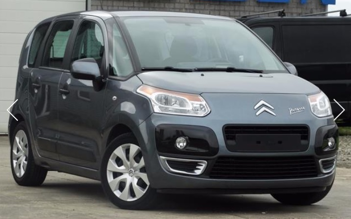 CITROEN C3 PICASSO (07/2009) - GREY METALLIC - lieu: