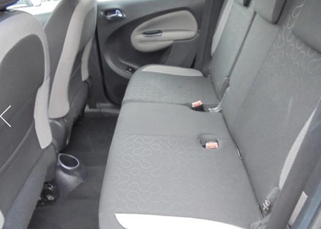 CITROEN C3 PICASSO (03/2009) - BLACK METALLIC - lieu: