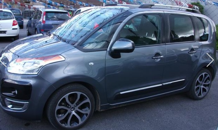 CITROEN C3 PICASSO (11/2009) - GREY METALLIC - lieu: