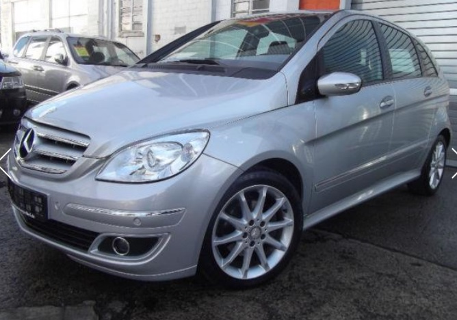 Left hand drive MERCEDES B CLASS B200 CDI  DPF SPECIAL EDITION
