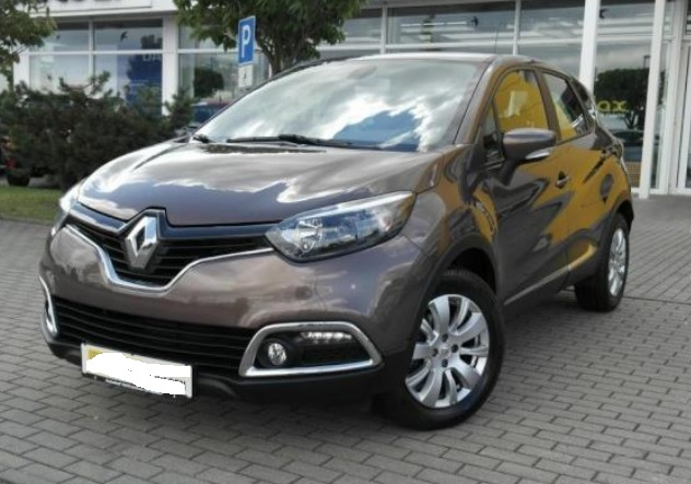 Left hand drive RENAULT CAPTURE 1.5 DCI 90 DYNAMIQUE