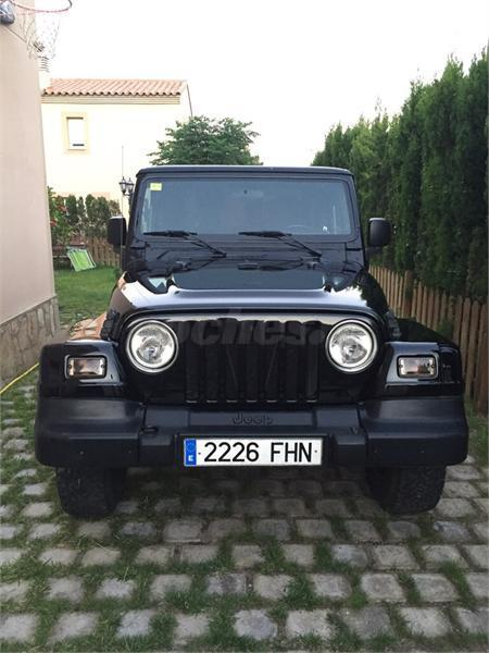 JEEP WRANGLER (06/2006) - BLACK - lieu: