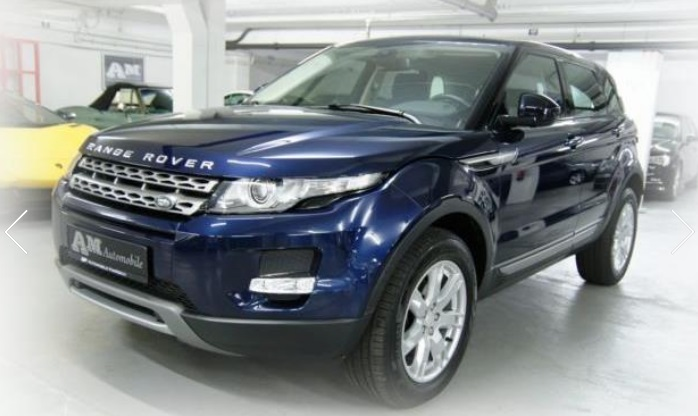 LANDROVER RANGE ROVER EVOQUE 2.2 TD4 PURE TECH PACK