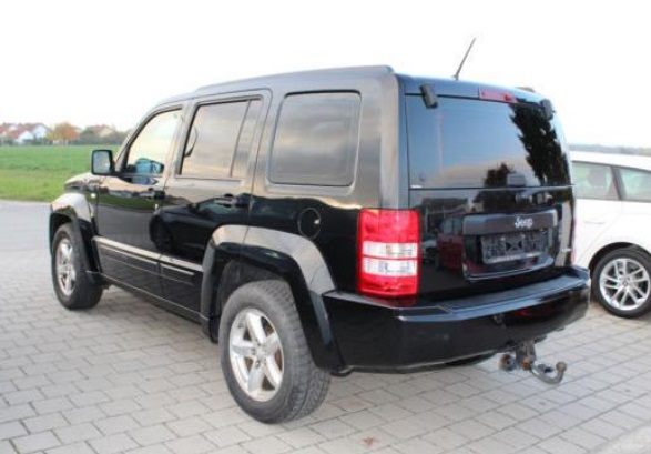 JEEP CHEROKEE (11/2008) - BLACK METALLIC - lieu: