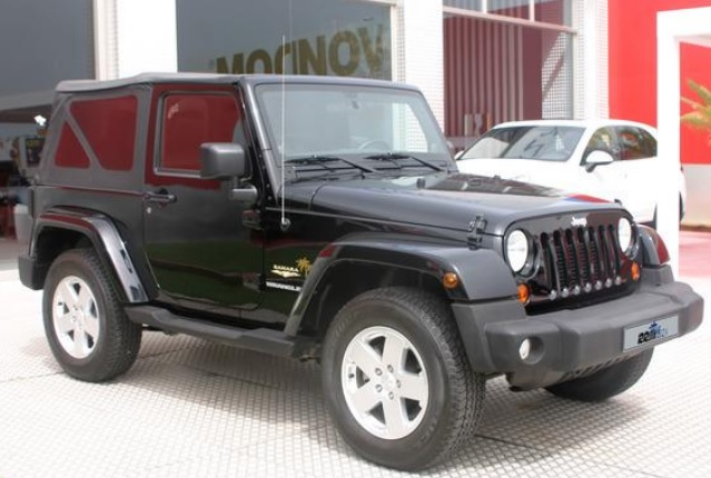 JEEP WRANGLER (05/2013) - BLACK - lieu: