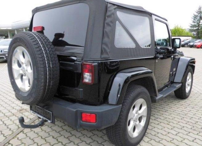JEEP WRANGLER (12/2013) - BLACK  - lieu: