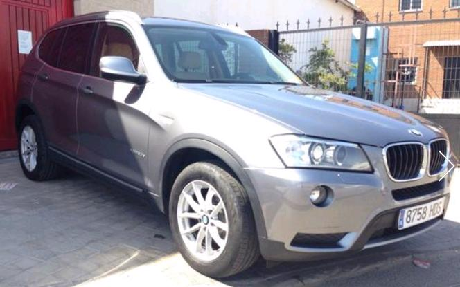 BMW X3 XD20 SPANISH REG
