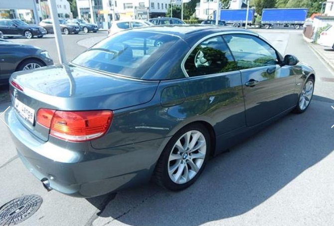 BMW 3 SERIES (06/2009) - TASMAN METALLIC - lieu: