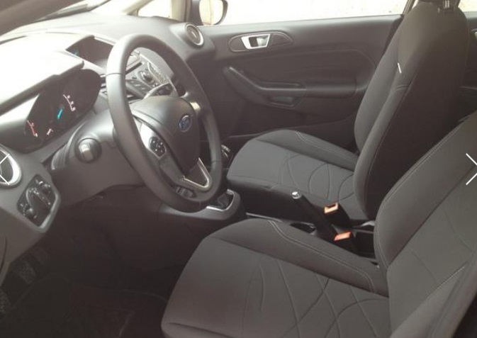 Left hand drive FORD FIESTA 1.5 TDCI TREND SPANISH REGISTERED