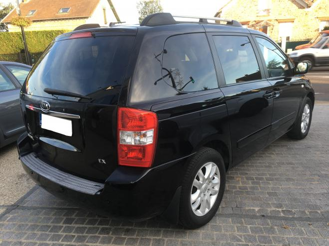 lhd car KIA CARNIVAL (09/2007) - BLACK