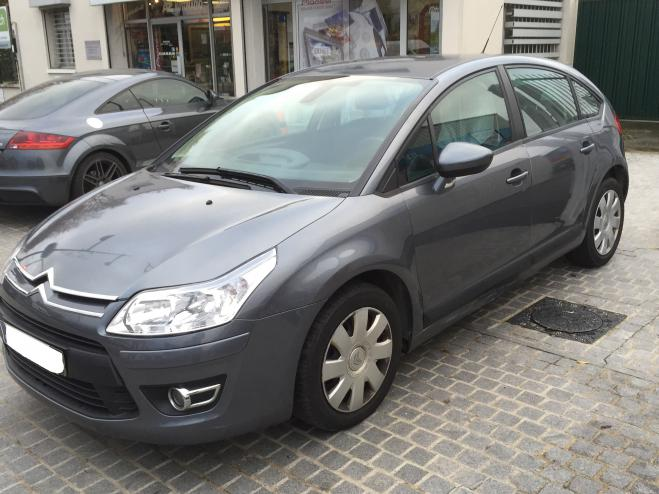 CITROEN C4 (01/2009) - GREY METALLIC - lieu: