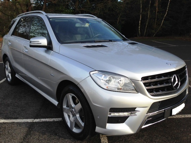 Left hand drive MERCEDES ML CLASS ML 350 CDI BLUE TECH 4MOTION