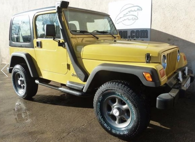JEEP WRANGLER 4.0 AUTO 4X4 SPANISH REGISTERED