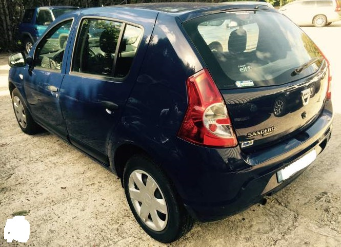 Left hand drive DACIA SANDERO 1.4L FRENCH REGISTERED