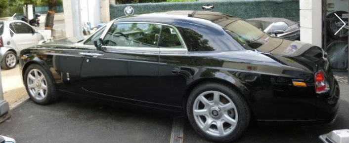 ROLLS ROYCE PHANTOM (06/2010) - BLACK - lieu: