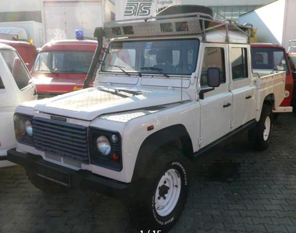 LANDROVER DEFENDER  130 Td5 Crew Cab Pick Up