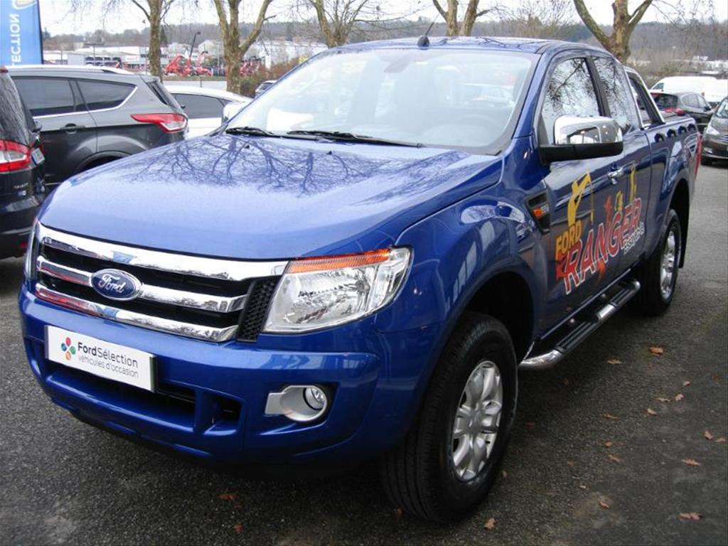 lhd FORD RANGER (12/2015) - CYCLONE BLUE - lieu: