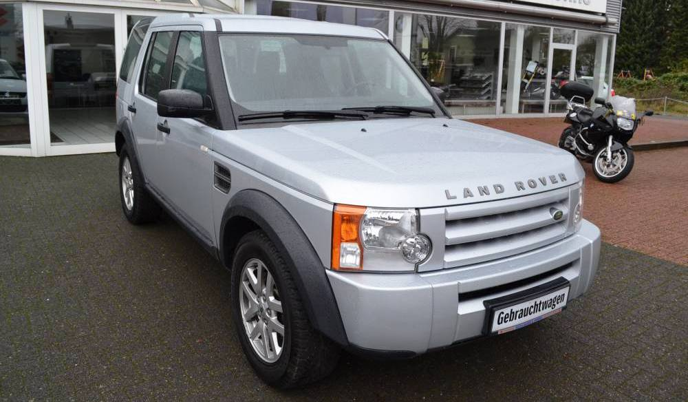 lhd LANDROVER DISCOVERY (12/2009) - SILVER - lieu:
