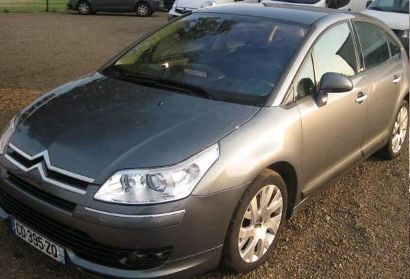 Left hand drive CITROEN C4 HDI EXCLUSIVE FRENCH REG