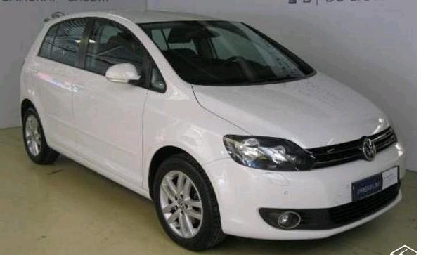 lhd VOLKSWAGEN GOLF PLUS (02/2013) - WHITE - lieu: