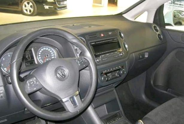 VOLKSWAGEN GOLF PLUS (02/2013) - WHITE - lieu:
