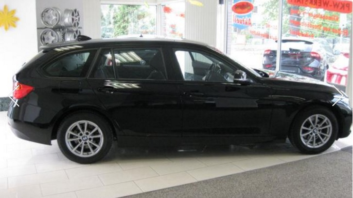 lhd BMW 3 SERIES (10/2014) - Black - lieu: