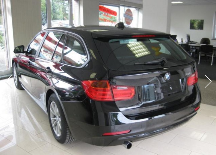 BMW 3 SERIES (10/2014) - Black - lieu:
