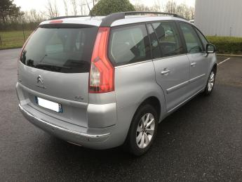 lhd car CITROEN C4 GRAND PICASSO (04/2011) - SILVER - lieu: