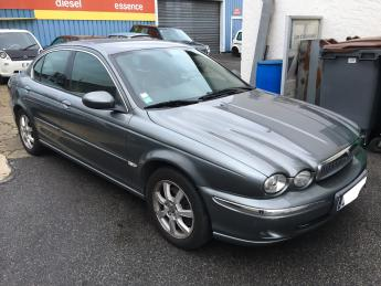 Lhd JAGUAR X TYPE (09/2004) - GREY - lieu: