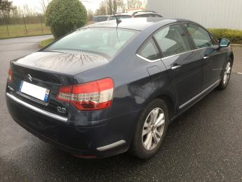 lhd car CITROEN C5 (09/2011) - BLUE - lieu: