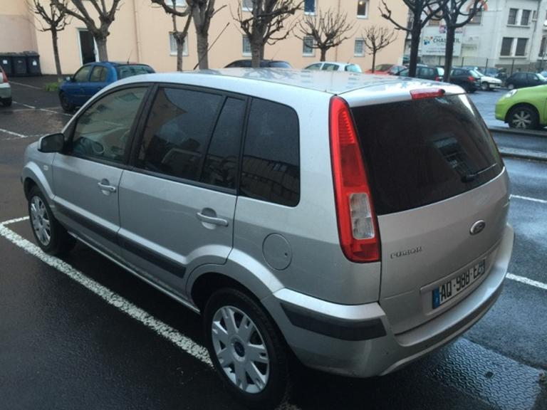Left hand drive FORD FUSION 1.4 TDCI AIRCON
