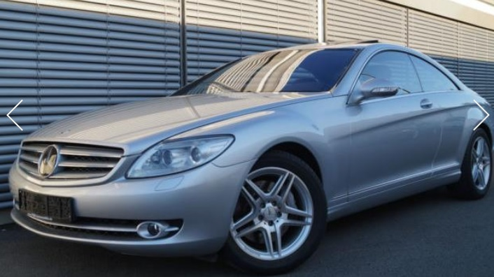 MERCEDES CL CLASS CL500 WITH AMG PACK