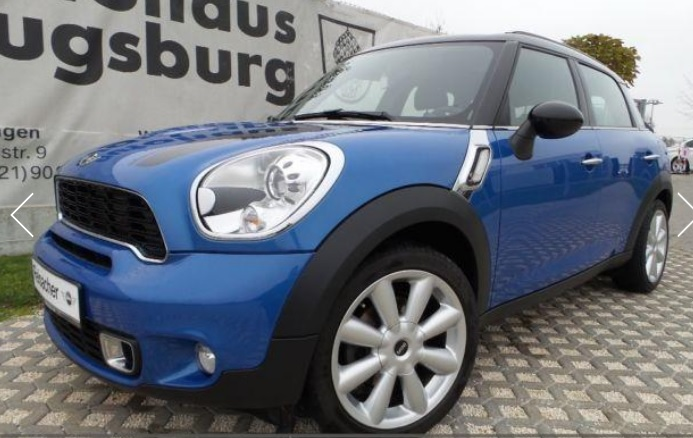 Left hand drive MINI COUNTRYMAN SD Countryman