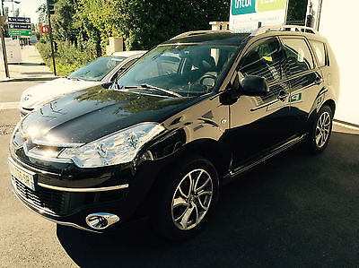 lhd CITROEN C-CROSSER (02/2010) - BLACK - lieu:
