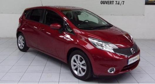 lhd NISSAN NOTE (02/2014) - RED - lieu: