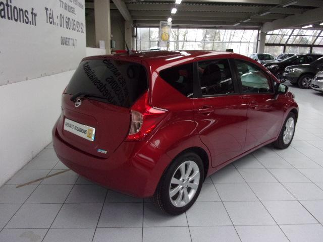NISSAN NOTE (02/2014) - RED - lieu: