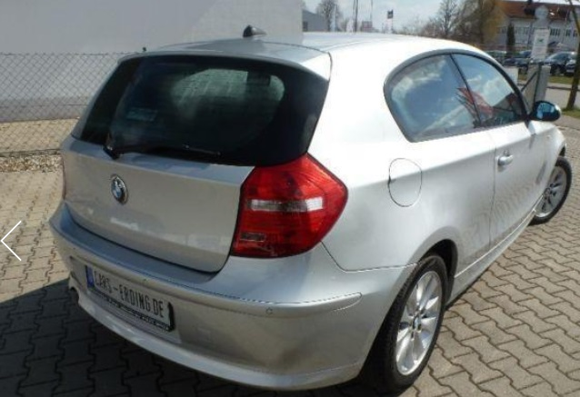 Left hand drive BMW 1 SERIES 118 d