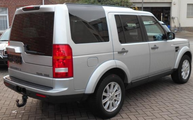 Left hand drive LANDROVER DISCOVERY 2.7 TdV6 HSE