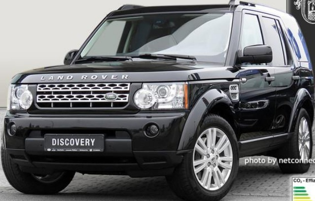 Left hand drive LANDROVER DISCOVERY 3.0 SDV6