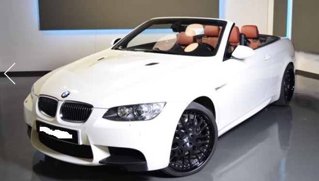 BMW M3 4.0 V8 CONVERTIBLE SPANISH REGISTERED